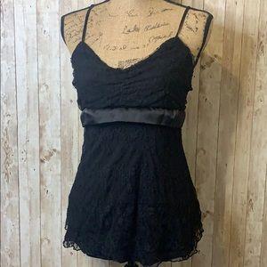 Sale ♻️ Rue21 Black Lace Cami